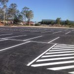 Car Parking Line Marking by River City LINEMARKING